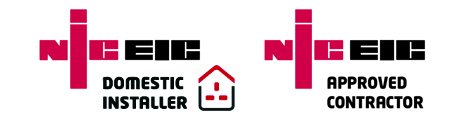 NIC EIC Domestic Installer & Approved Contractor